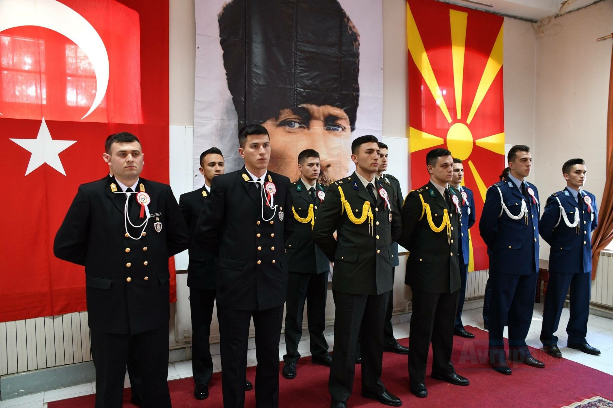 Atatürk Mezuniyetinin 120înci Yıldönümünde Manastır'da Anıldı