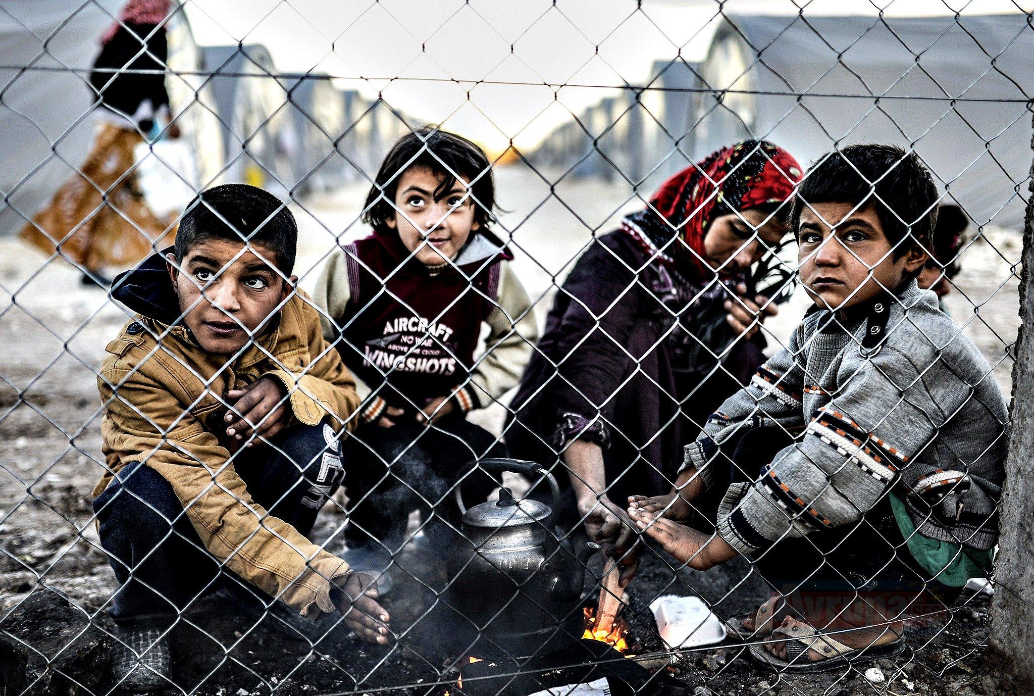 Yunanistan'da mülteciler evsiz kalıyor
