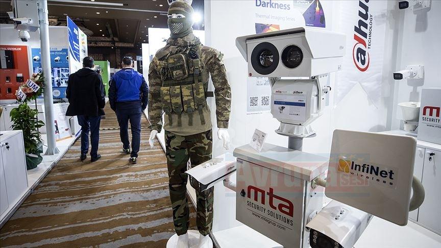 Güvenlikteki son teknolojiler görücüye çıktı