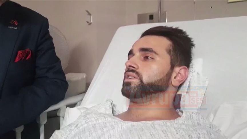 Terör saldırısında yaralanan Türk Annemi  aradım hakkını helal etmesi için