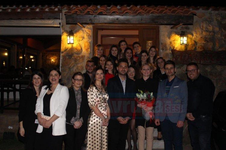 Başkan Çiğden Asafoğlu Azınlık kültür derneğinin etkinliğine katıldı
