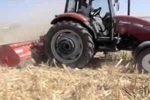 Batı Trakya'lı Hüseyin Kara Memet tarım makinesine ayağını kaptırdı
