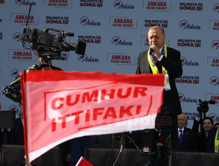 Ankara'lılar Recep Tayyip Erdoğan'ı yanlız bırakmadılar