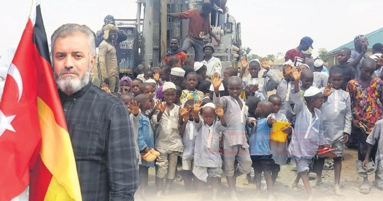 Hagen Türk'lerinden Nijerya'ya uzanan el