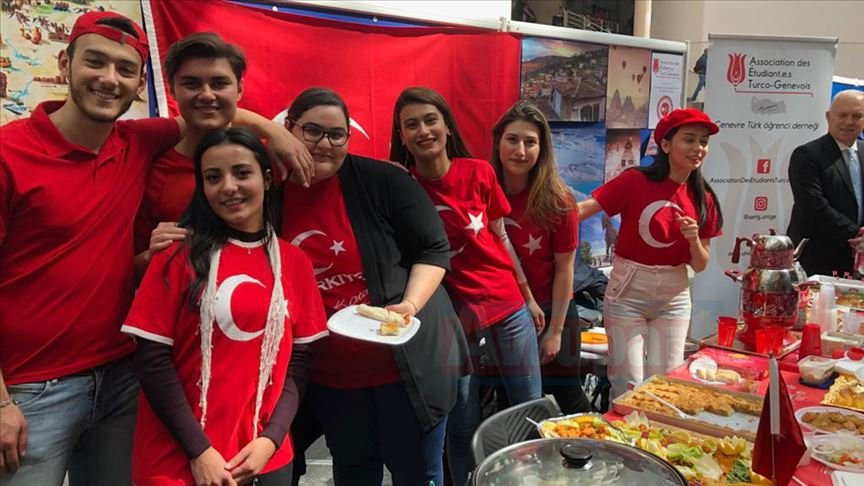 Cenevre Üniversitesinde Türk rüzgarı esti