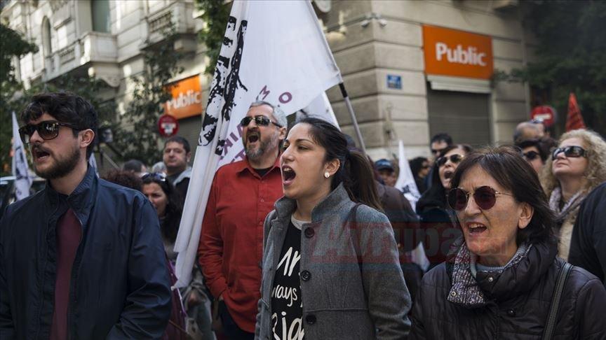 Yunanistan'da öğretmenler grevde