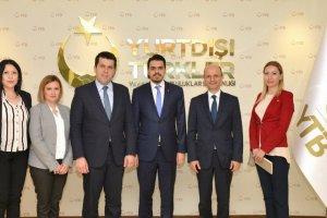 Kuzey Makedonya Devlet Bakanı Hasan'dan Başkan Eren'e Ziyaret