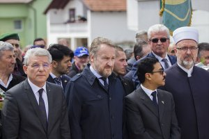 Bosna Hersek'teki Ahmici katliamının kurbanları anıldı