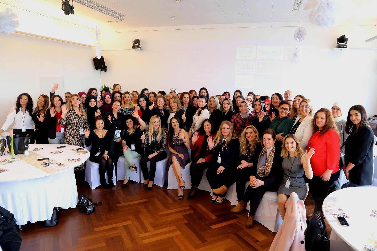 Kadınların başarısı toplumu'da başarılı kılar