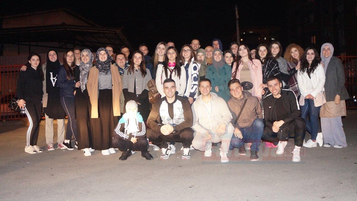 Sancaklı öğrenciler Türkiye'nin yolunu tuttu