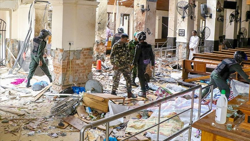 Sri Lanka'da kiliselerde ve otellerde patlamalar: 185 ölü