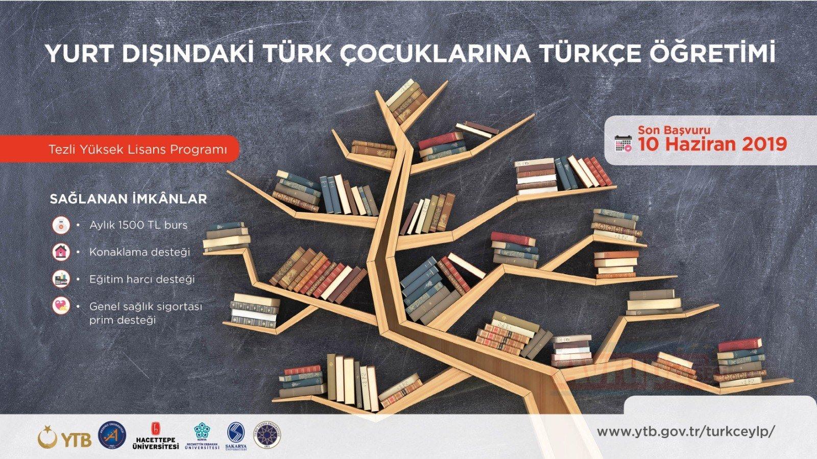 Yurt Dışındaki Türk Çocuklarına Türkçe Öğretimi Tezli Yüksek Lisans Programı