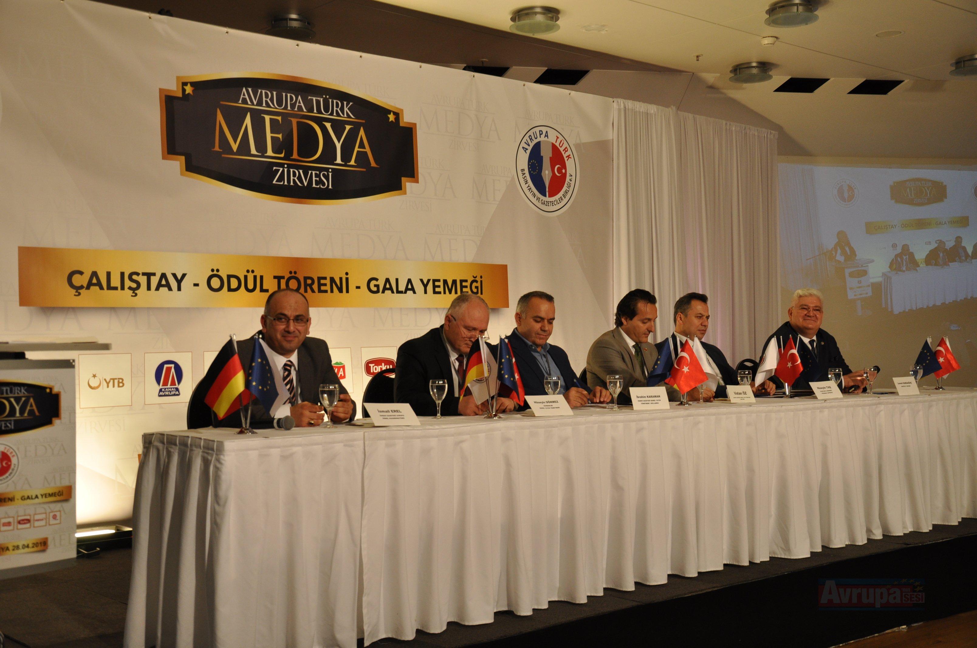 Avrupa Türk medyasının kalbi Essen'de attı