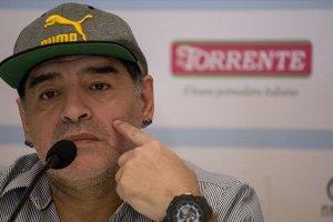 Maradona: Güçlü ol Venezuela