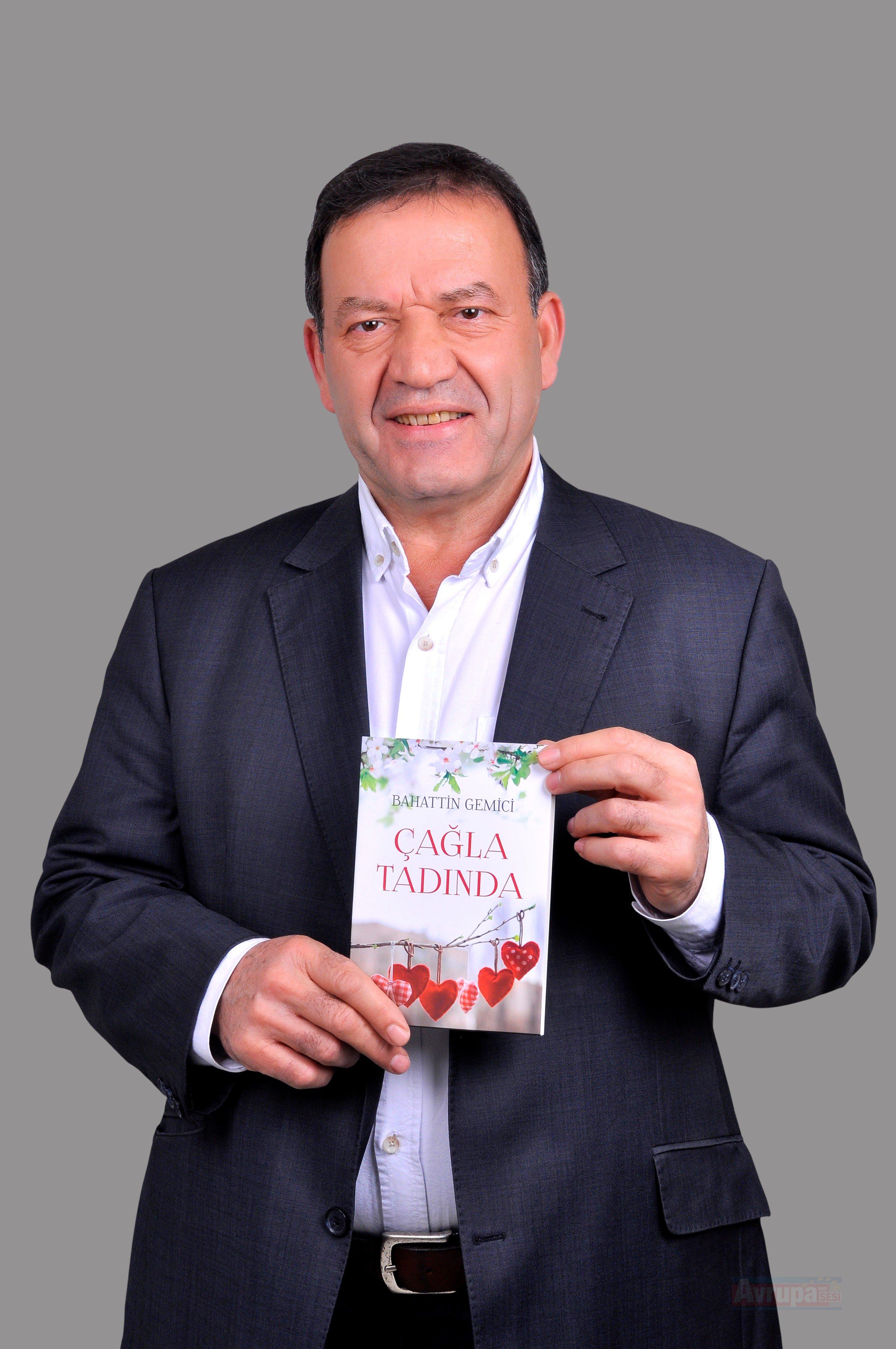 Öğretmen şair Bahattin Gemici'nin şiir kitabı yayınlandı