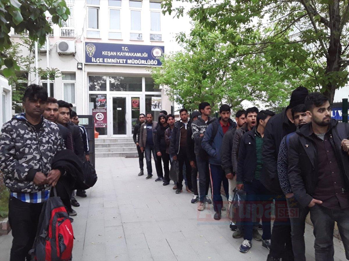Edirne'de 23 düzensiz göçmen yakalandı