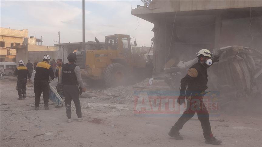 Almanya'dan Suriye rejiminin İdlib'e yönelik saldırılarına kınama