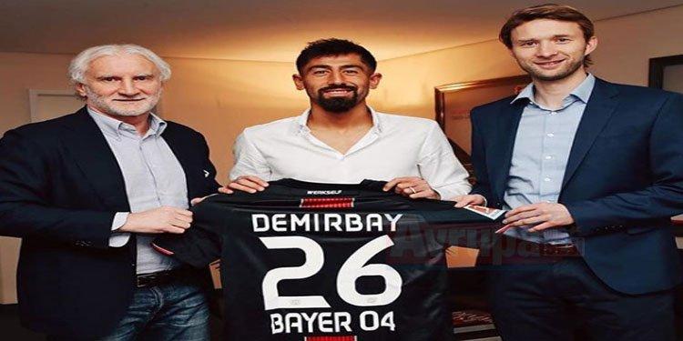 Kerem Demirbay, Bayer Leverkusen'e transfer oldu