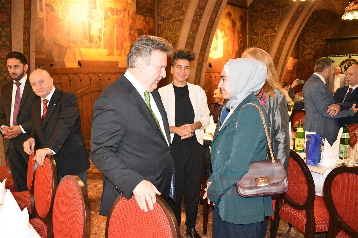 Avusturya'da Viyana Belediyesi iftar programı düzenledi
