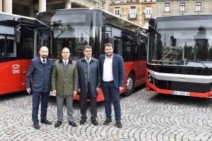 Türk otobüsleri Belgrad yollarında