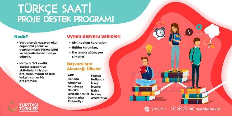 Türkçe Saati Proje Destek Programı