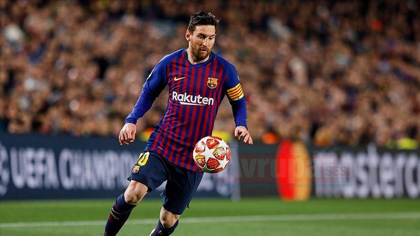 Dünyanın en fazla kazanan sporcusu Messi
