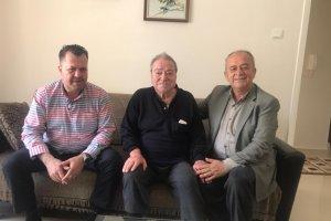 Eski Bağımsız Rodop Milletvekili Rodoplu'ya evinde ziyaret