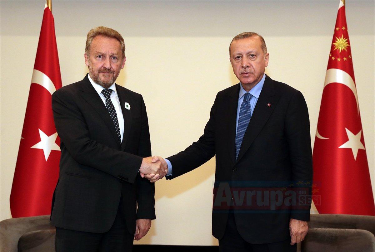 Cumhurbaşkanı Recep Tayyip Erdoğan, Bakir İzetbegovic ile görüştü