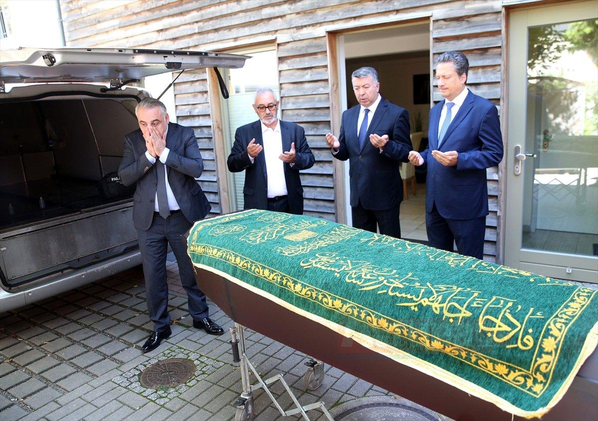 Türk öğrencinin cenazesi yetkililere teslim edildi