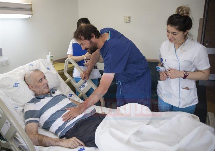 Hollanda'da 15 gün ömür biçilen gurbetçi, Türkiye'de yeniden dünyaya geldi