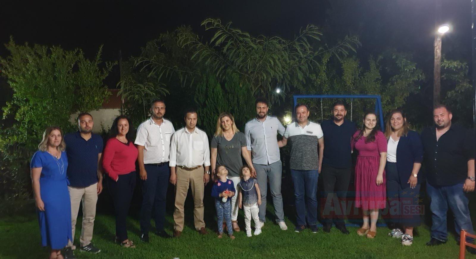 Lippstadt BTTEKD Yönetim Kurulu Yassıköy Belediye Başkan'ını Ziyaret Etti