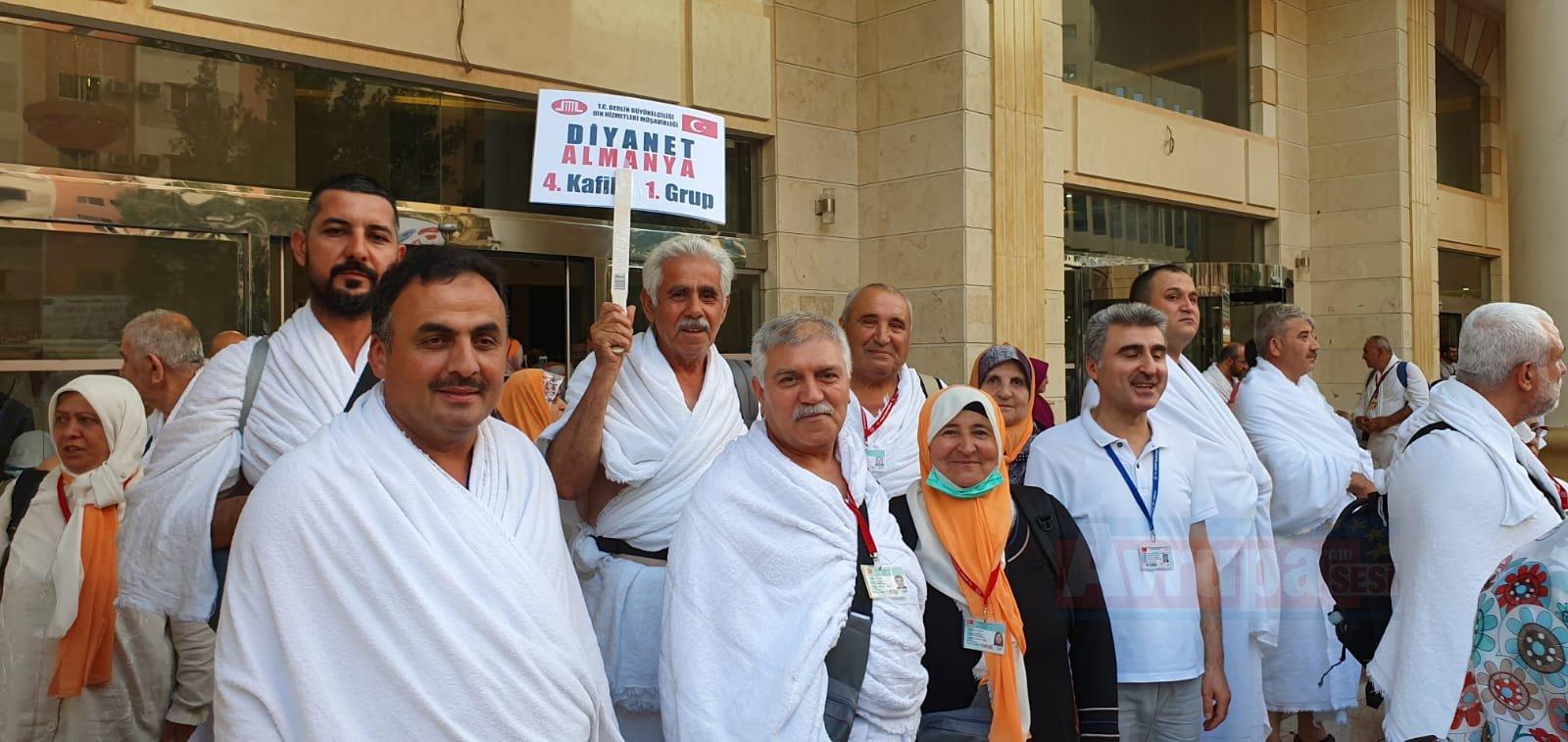 Avrupa hacı adaylarının Arafat'a intikalleri tamamlandı