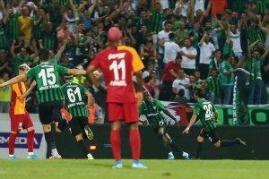 Süper Lig başladı: Denizlispor 2 - Galatasaray 0