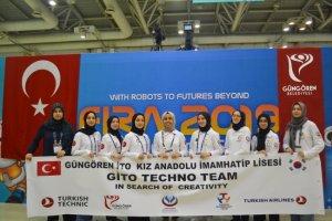 Dünya Robotik Yarışması'nda Türkiye takımı üçüncü oldu