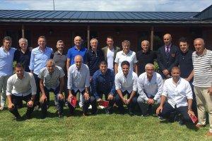 Şenol Güneş, genç milli takım teknik adamlarıyla bir araya geldi