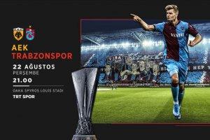 Trabzonspor'un hedefi Atina'dan avantajlı dönmek