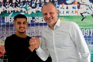 Schalke 04, Levent Mercan ile profesyonel kontrat yaptı