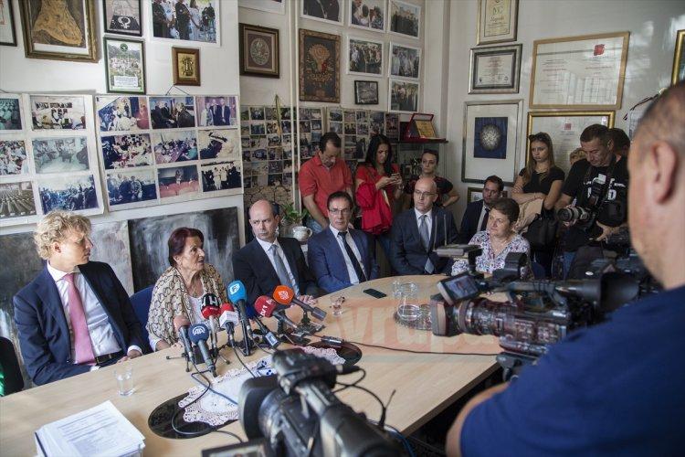 Srebrenitsalı anneler Hollanda'yı AİHM'e taşıyacaklar