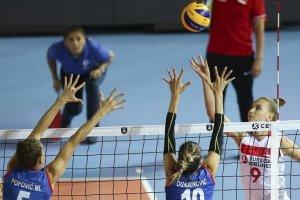 A Milli Kadın Voleybol Takımı, şampiyonda grubunu ikinci sırada tamamladı