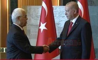 Cumhurbaşkanı Erdoğan'ın 30 Ağustos Zafer Bayramı resepsiyonu