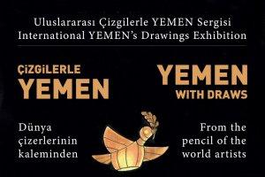 """Türkiye Diyanet Vakfı'ndan """"Uluslararası Çizgilerle Yemen"""" Sergisi"""