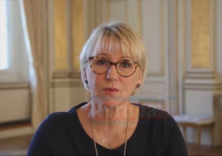 İsveç Dışişleri Bakanı Ann Linde getirildi