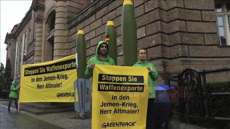 Greenpeace'ten Almanya'ya
