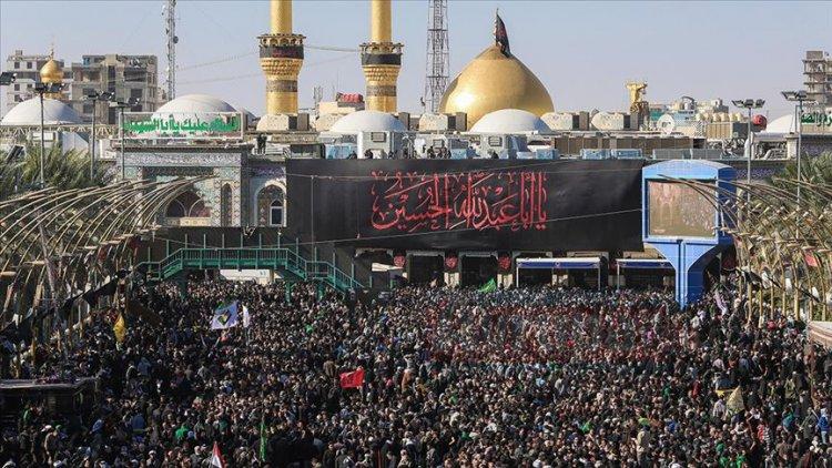 Irak'ta aşure merasiminde izdiham yaşandı