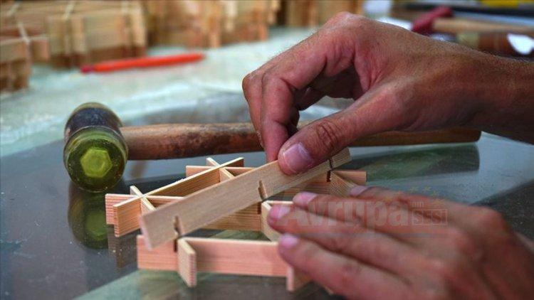 Japonların altı asırlık ağaç işleme sanatı kumikodan Türkiye'ye taşıdı