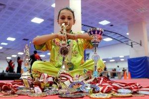 11 yaşındaki milli sporcu Tuana, 7 yıla 38 madalya ve 3 kupa sığdırdı