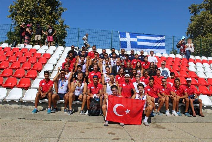 Balkan Kürek Şampiyonası Türkiye'de esti