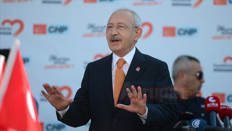 Kılıçdaroğlu: Yeni bir siyaset anlayışına getiriyoruz düşüncesinde