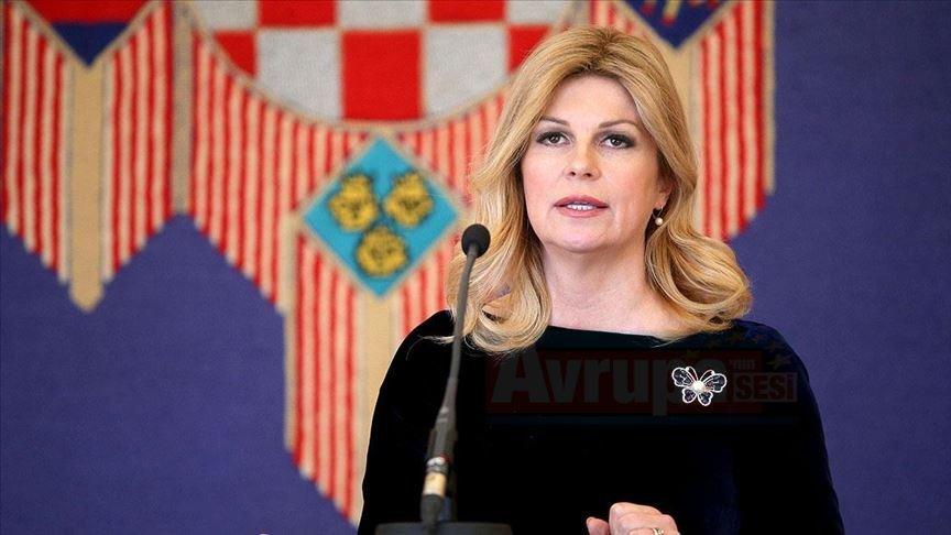Hırvat Cumhurbaşkanı maç sonundaki açıklamasıyla büyük tepki çekti