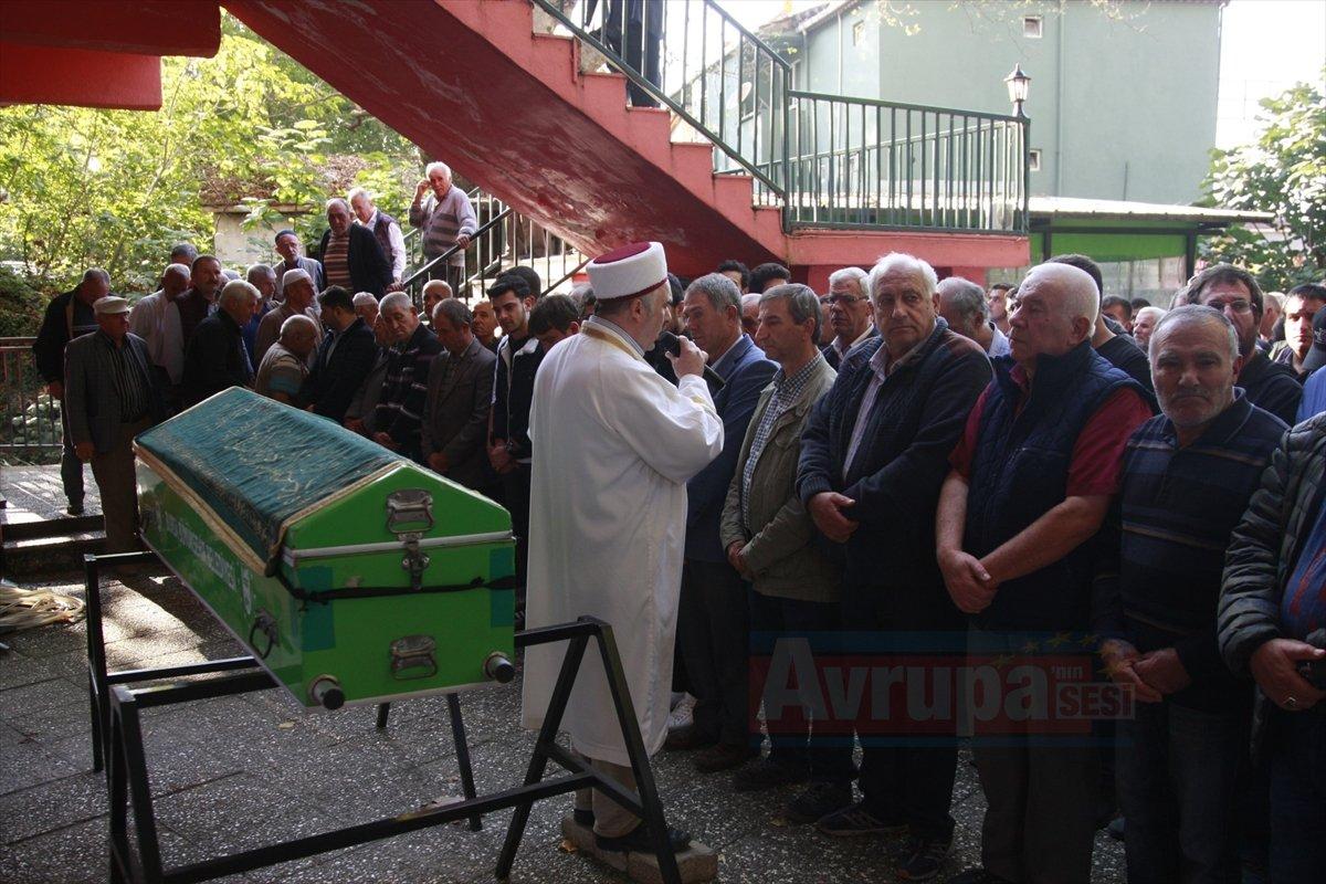 Almanya'da ölü bulunan memleketi Bursa'da son yolculuğuna uğurlandı
